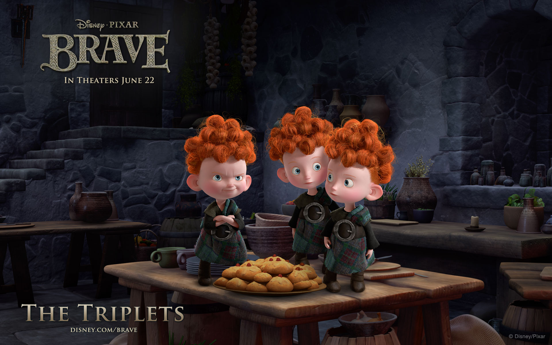 Brave The Triplets widescreen