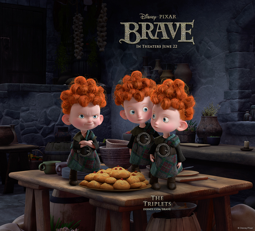 brave android The Triplets