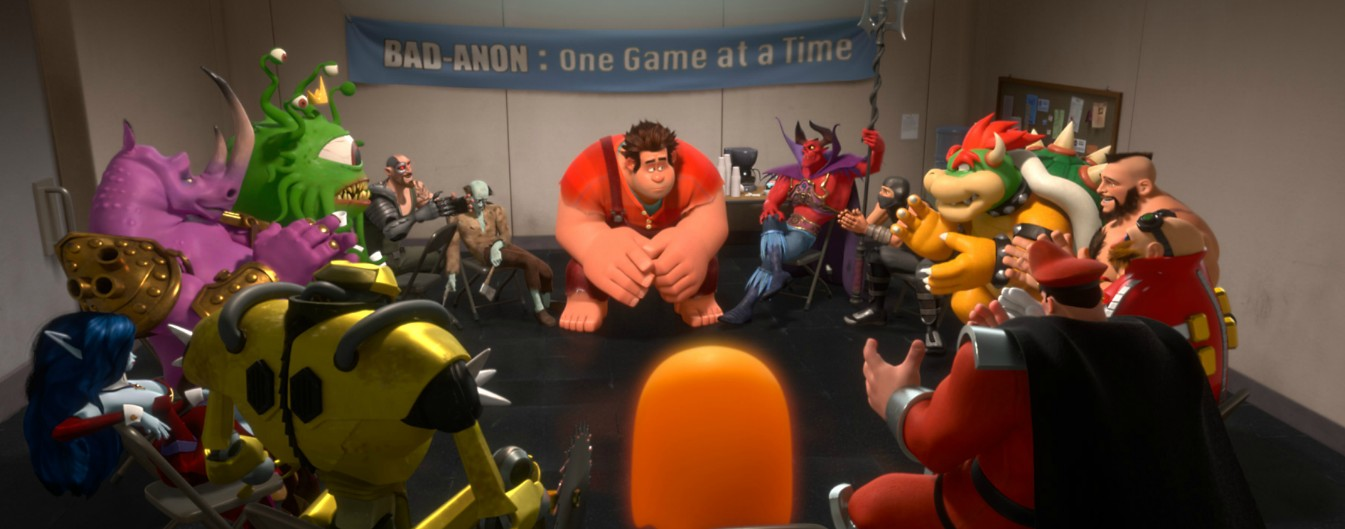 wreck-it-ralph disney movie